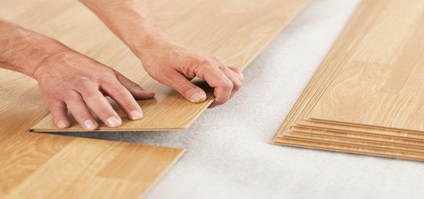 What is common between laminate and LVT flooring?